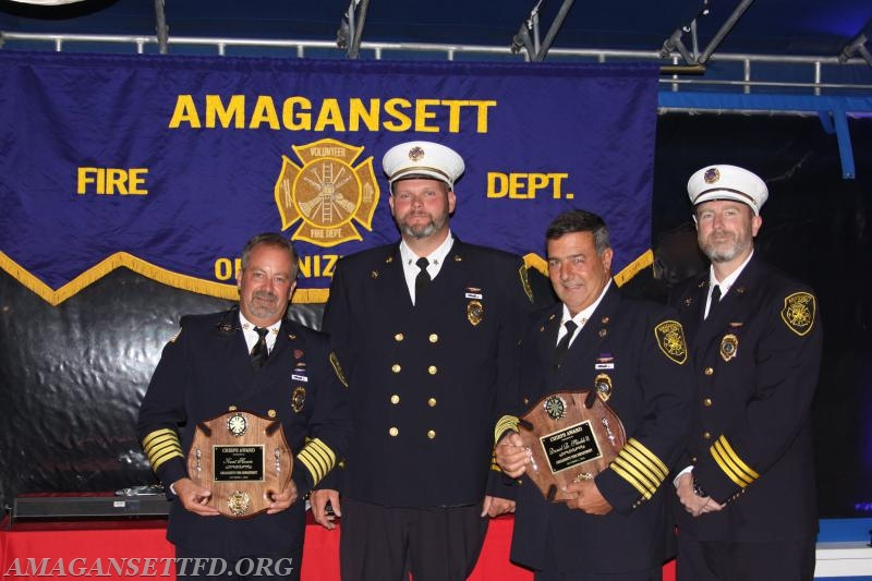 Ex-Chief Kent Howie and Ex-Chief Dan Shields II - Chiefs Award