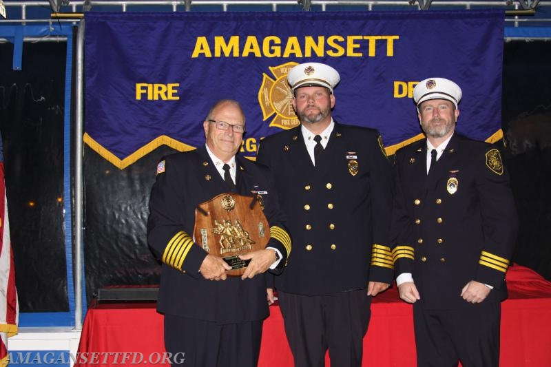 Ex-Chief Jack Emptage - Firefighter of the Year